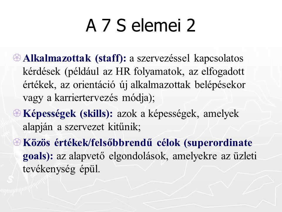 A 7 S elemei 2