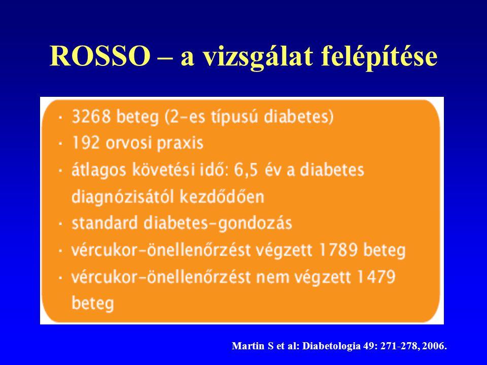 ROSSO – a vizsgálat felépítése