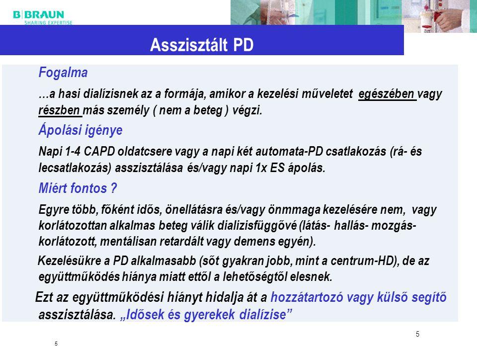 Asszisztált PD Fogalma