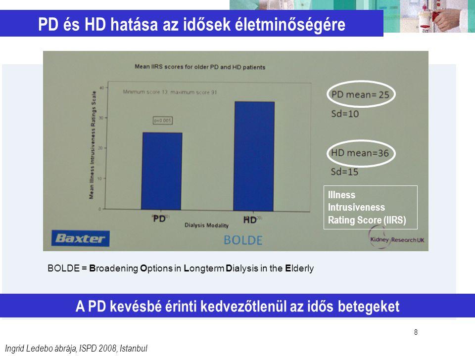 PD és HD hatása az idősek életminőségére