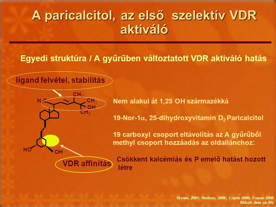 A paricalcitol, az első szelektív VDR aktiváló