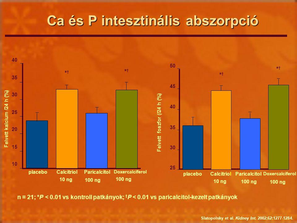Ca és P intesztinális abszorpció