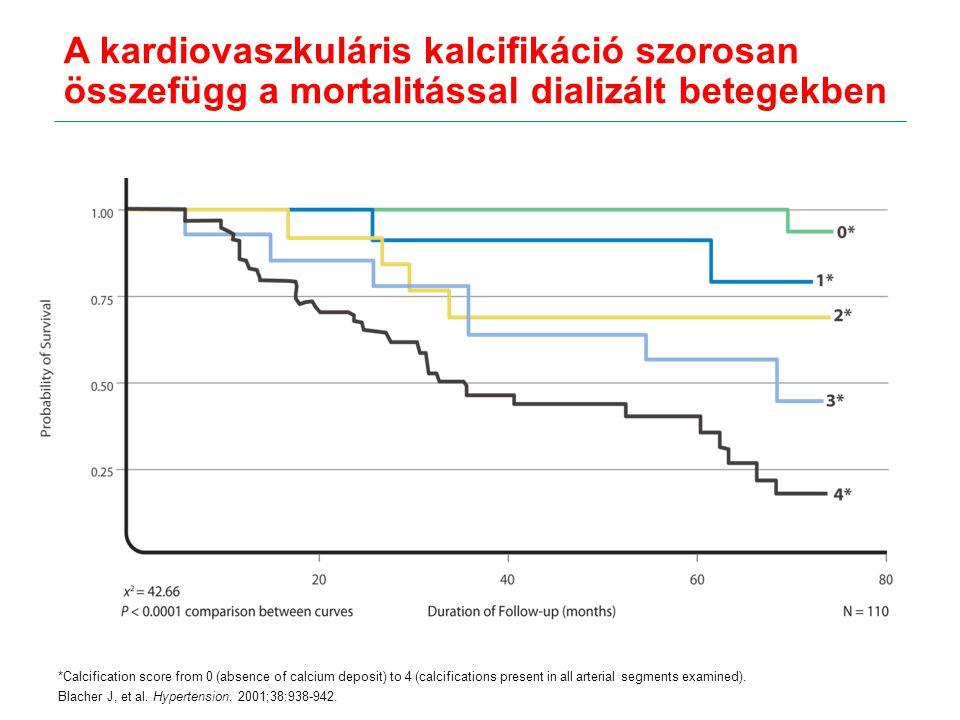 A kardiovaszkuláris kalcifikáció szorosan összefügg a mortalitással dializált betegekben