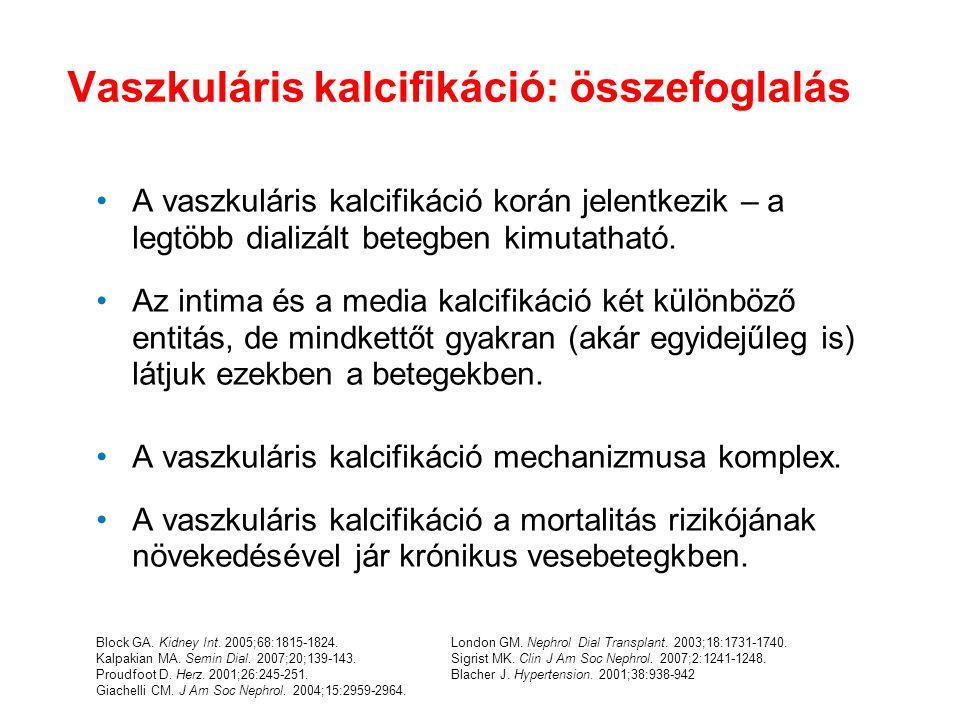 Vaszkuláris kalcifikáció: összefoglalás