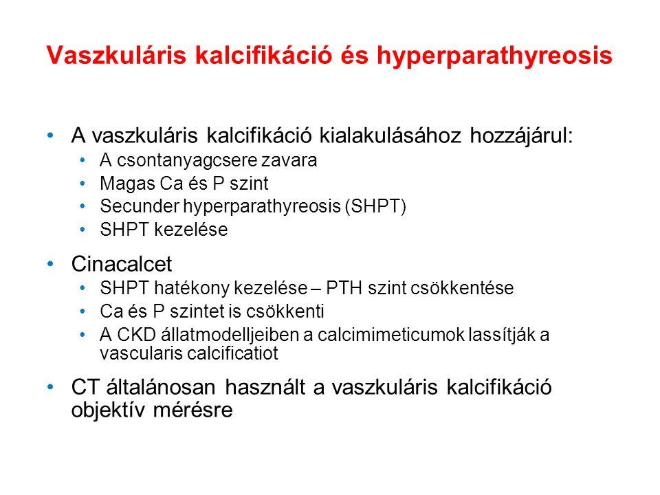 Vaszkuláris kalcifikáció és hyperparathyreosis