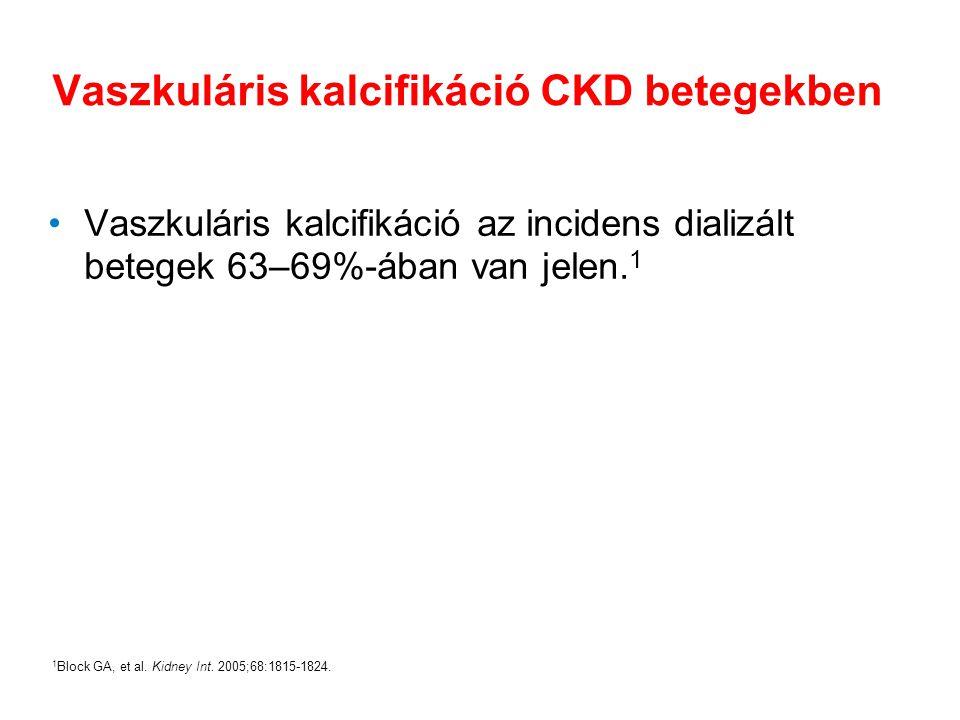 Vaszkuláris kalcifikáció CKD betegekben