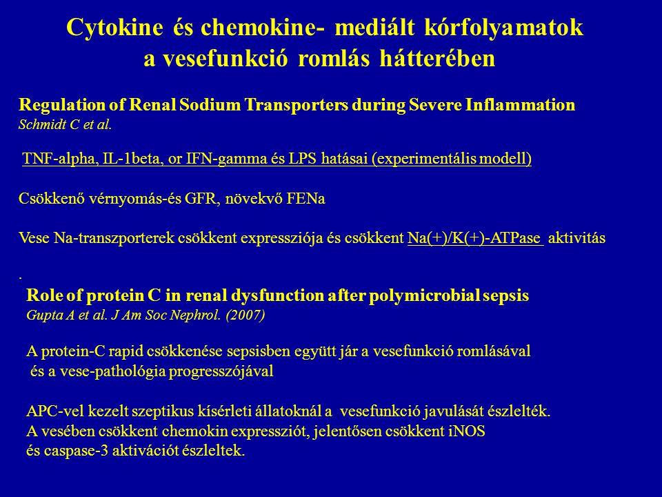 Cytokine és chemokine- mediált kórfolyamatok
