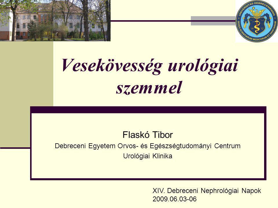 Vesekövesség urológiai szemmel