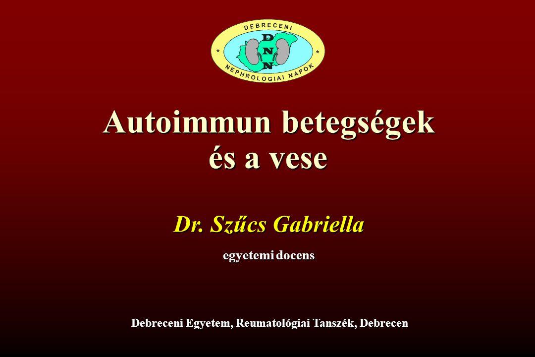 Debreceni Egyetem, Reumatológiai Tanszék, Debrecen