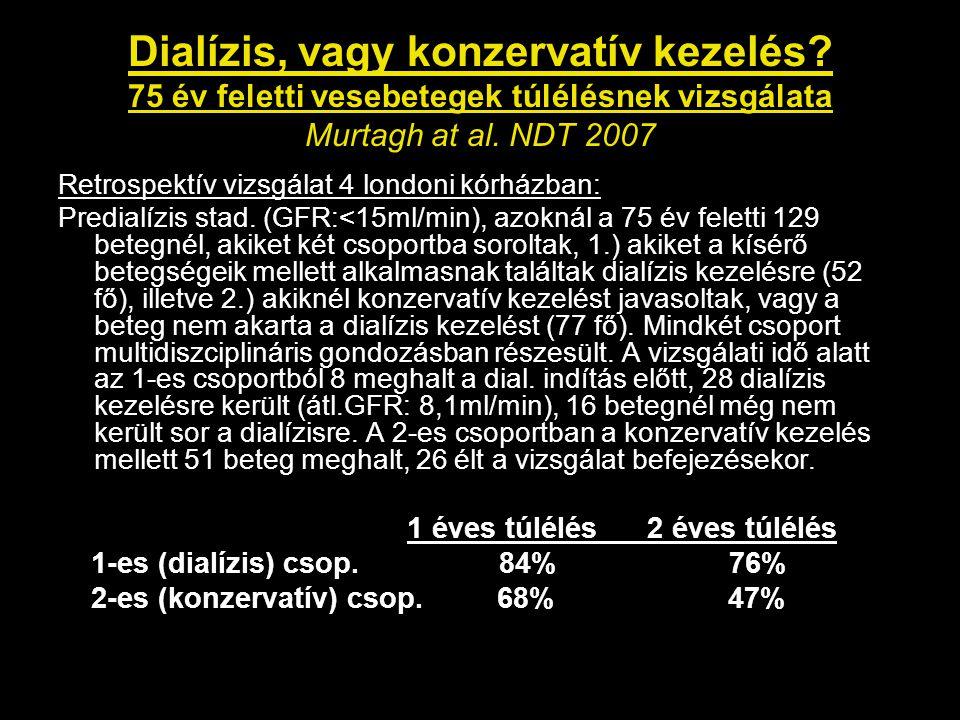 Dialízis, vagy konzervatív kezelés