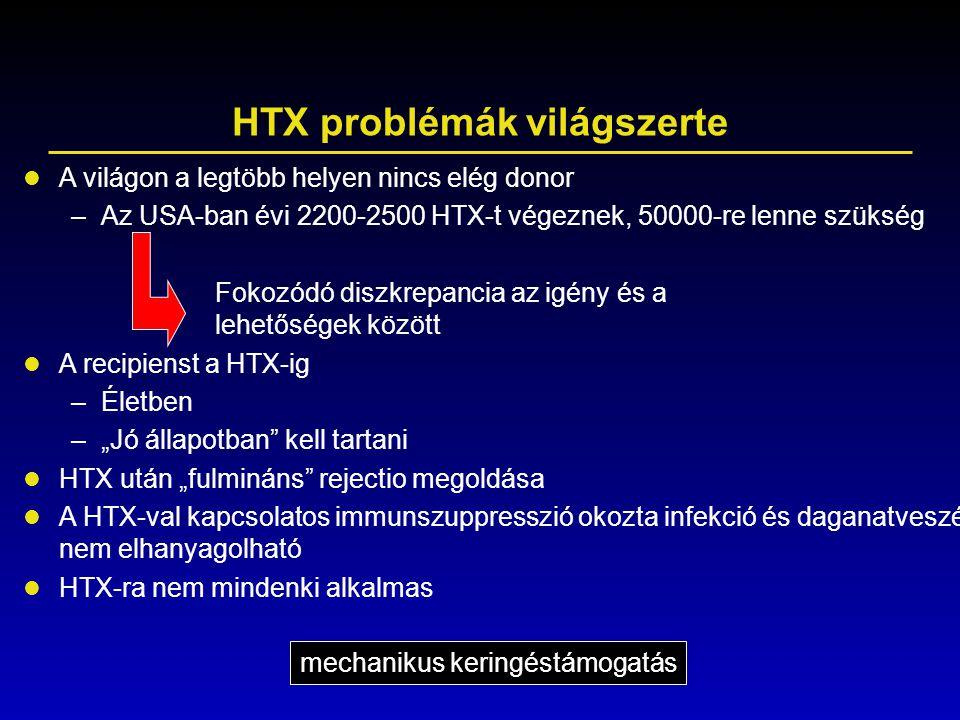 HTX problémák világszerte