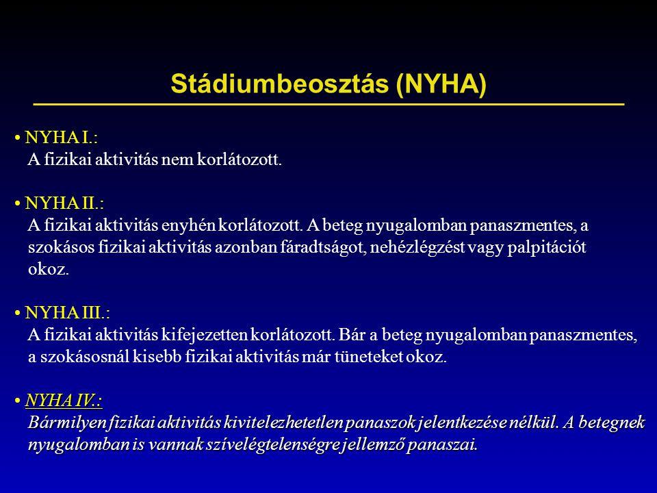 Stádiumbeosztás (NYHA)