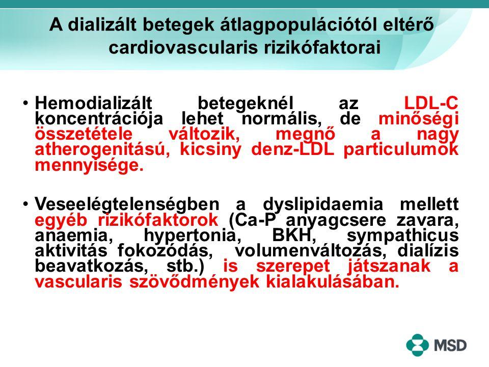 A dializált betegek átlagpopulációtól eltérő