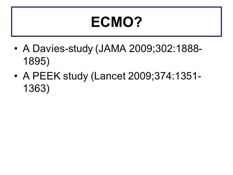 ECMO A Davies-study (JAMA 2009;302:1888-1895)