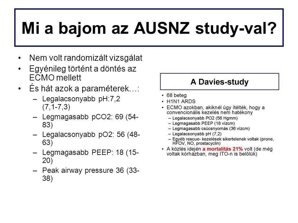 Mi a bajom az AUSNZ study-val