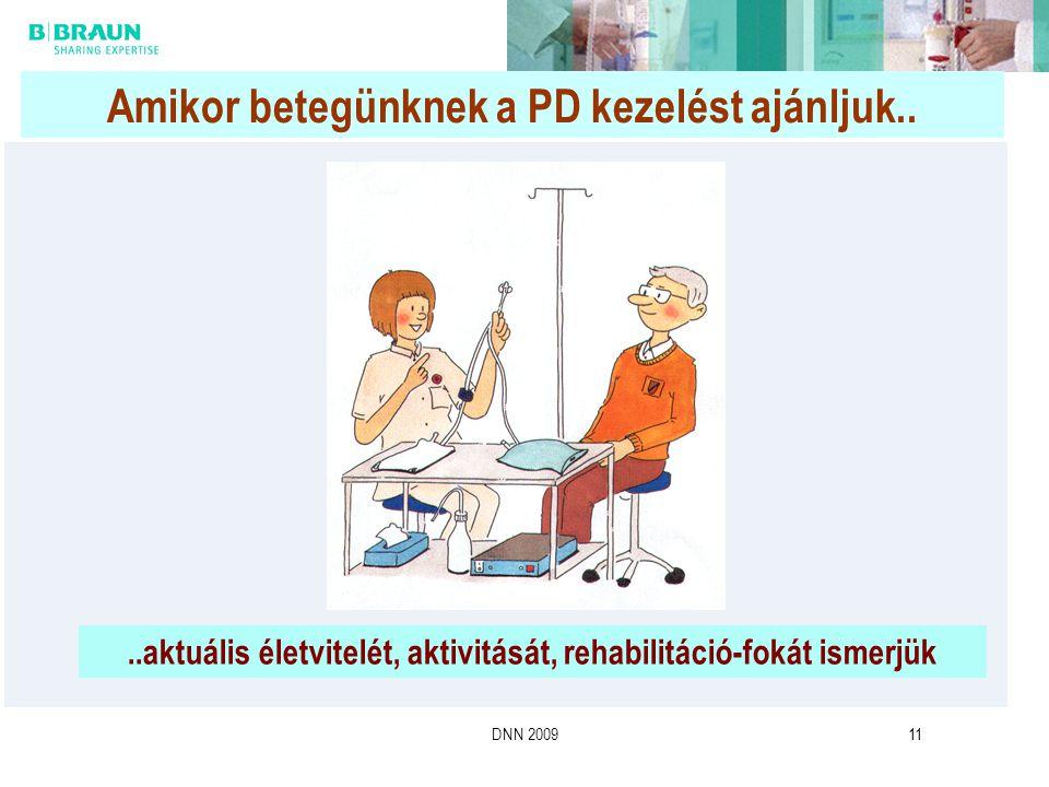 Amikor betegünknek a PD kezelést ajánljuk..