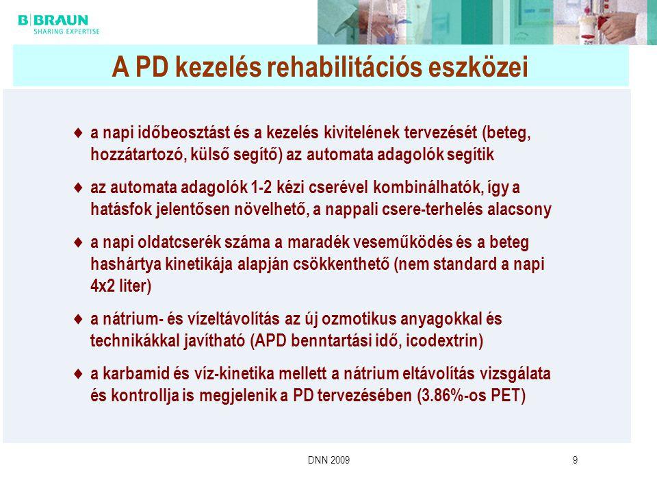 A PD kezelés rehabilitációs eszközei