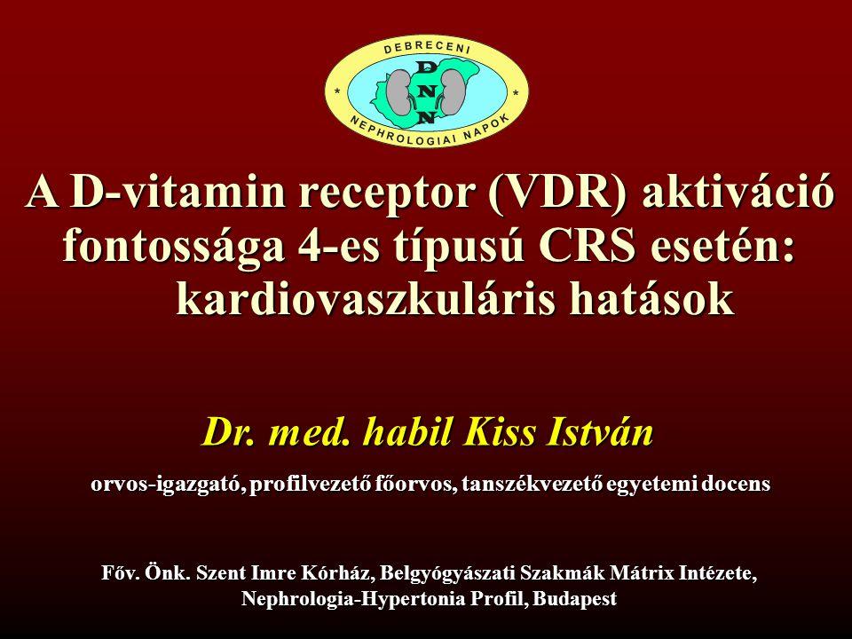 A D-vitamin receptor (VDR) aktiváció