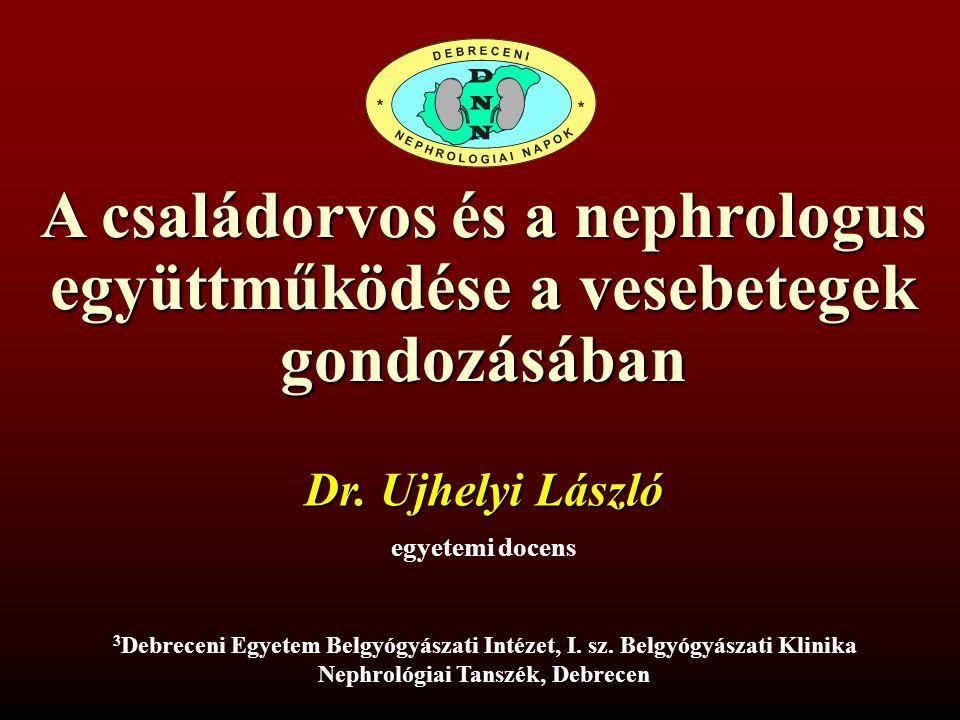 A családorvos és a nephrologus együttműködése a vesebetegek