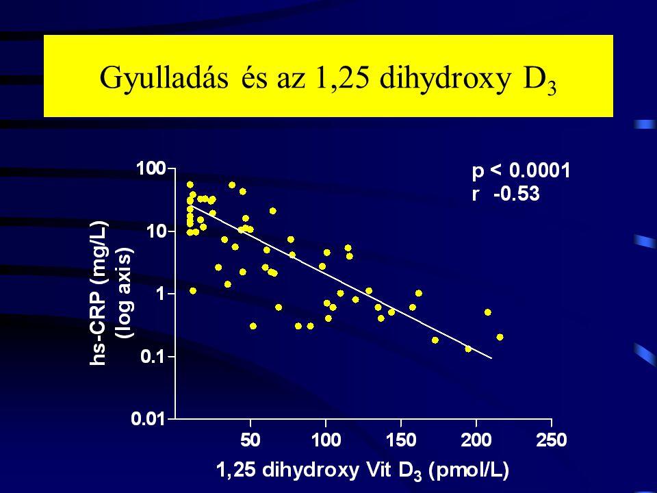 Gyulladás és az 1,25 dihydroxy D3