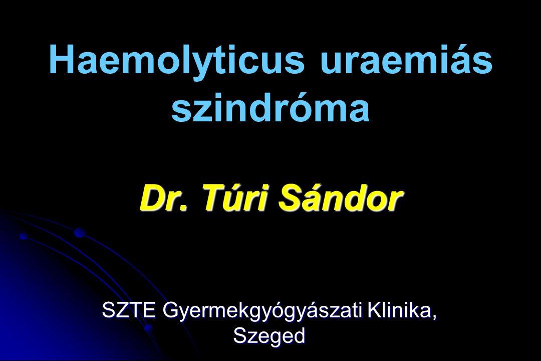 Haemolyticus uraemiás szindróma