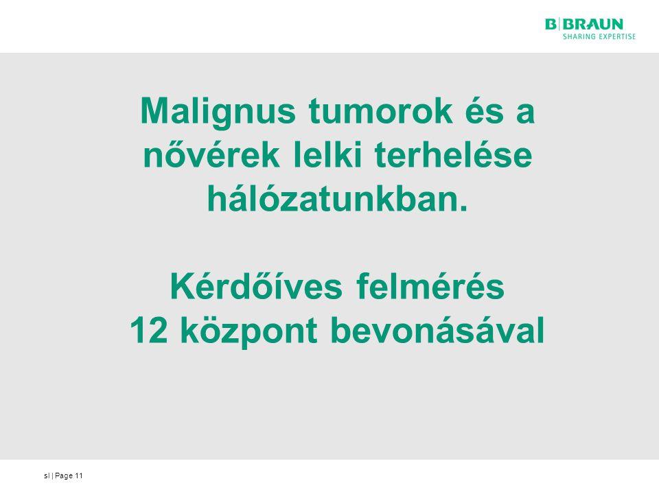 Malignus tumorok és a nővérek lelki terhelése hálózatunkban