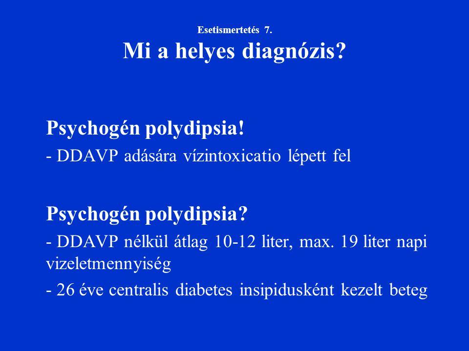Esetismertetés 7. Mi a helyes diagnózis