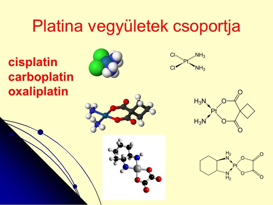 Platina vegyületek csoportja