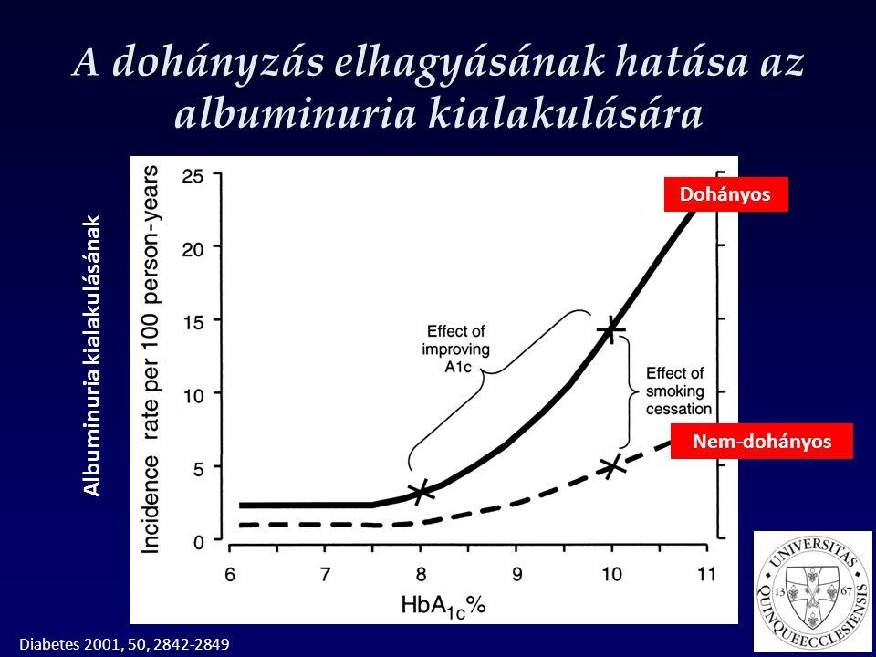 A dohányzás elhagyásának hatása az albuminuria kialakulására