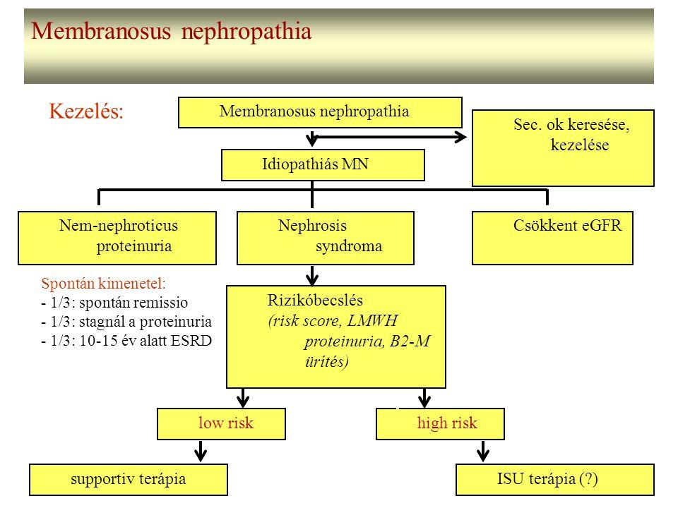 Membranosus nephropathia