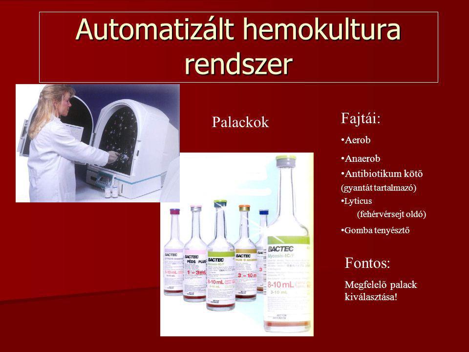 Automatizált hemokultura rendszer