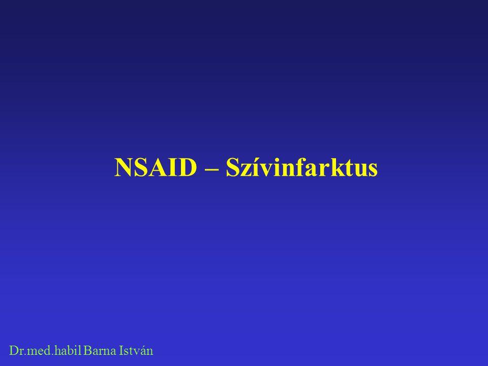 NSAID – Szívinfarktus