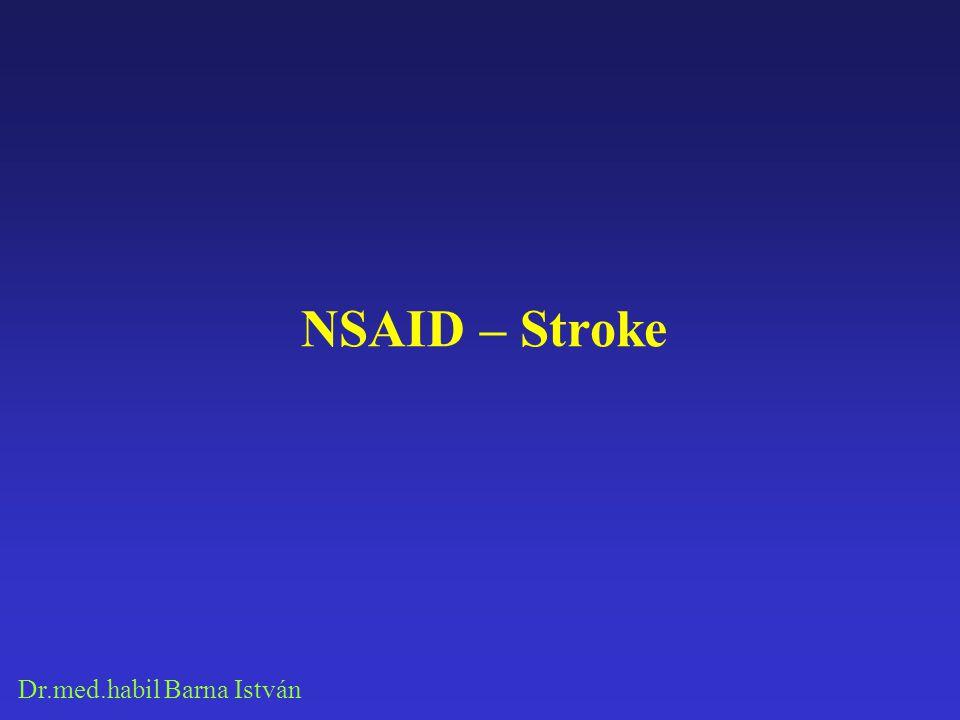 NSAID – Stroke