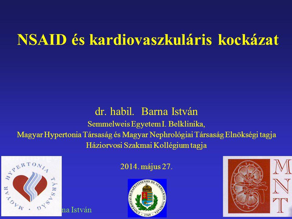 NSAID és kardiovaszkuláris kockázat