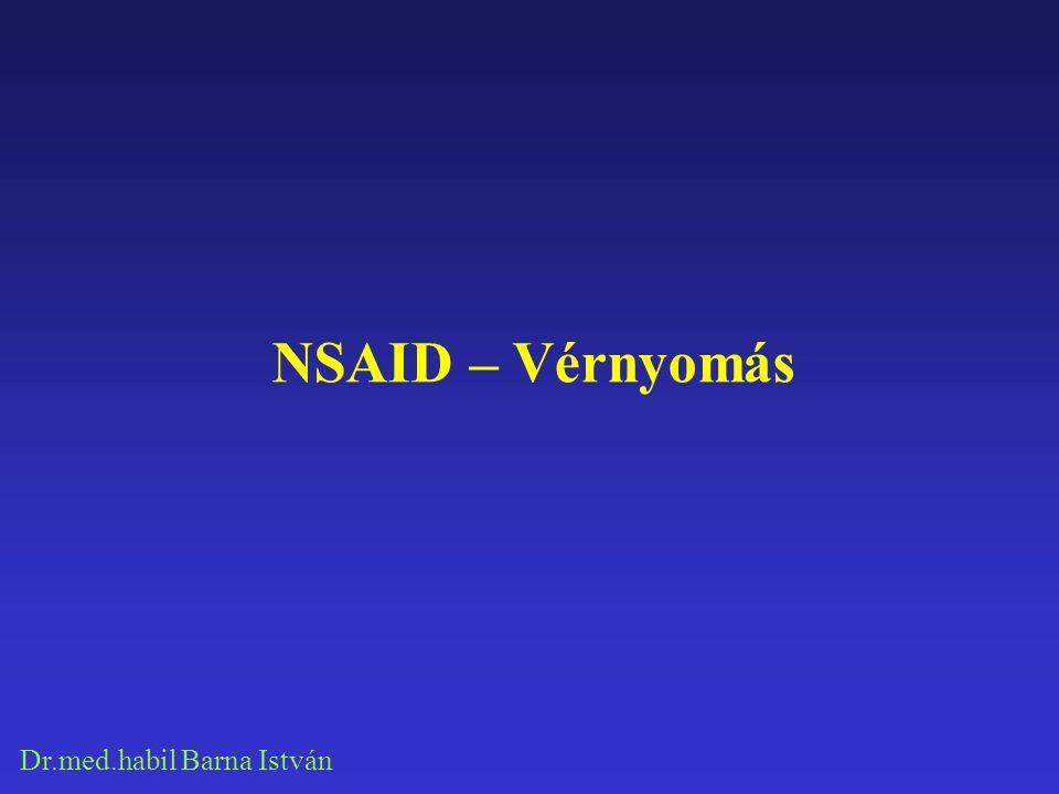 NSAID – Vérnyomás