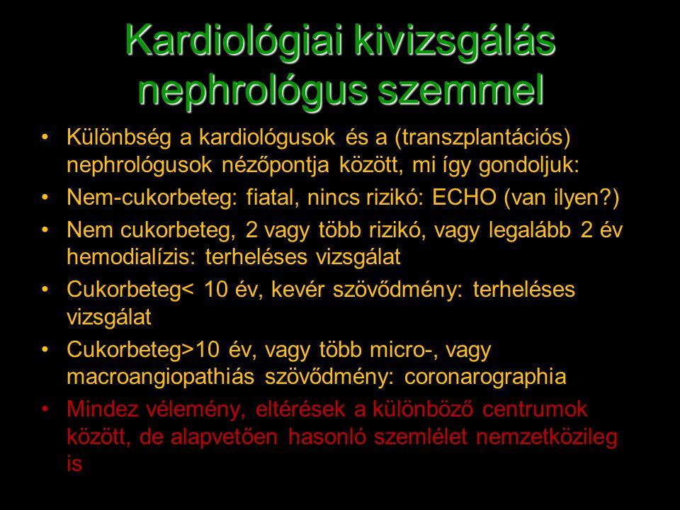 Kardiológiai kivizsgálás nephrológus szemmel