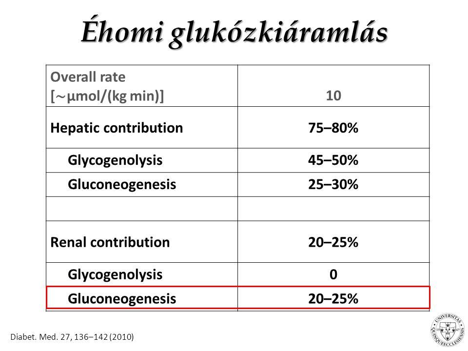 Éhomi glukózkiáramlás