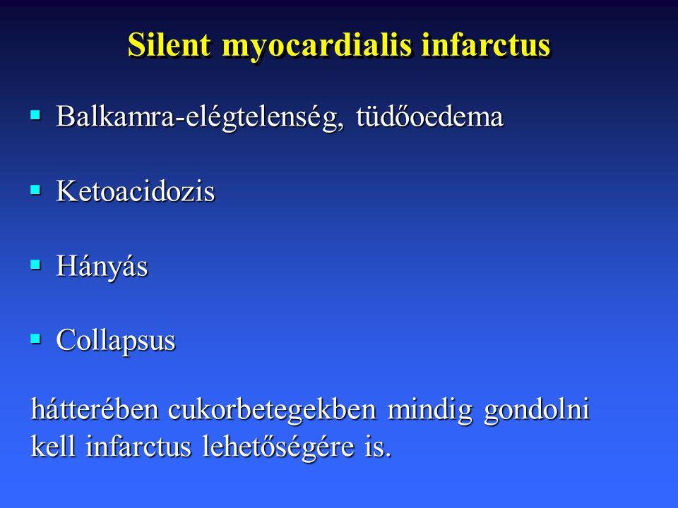 Silent myocardialis infarctus