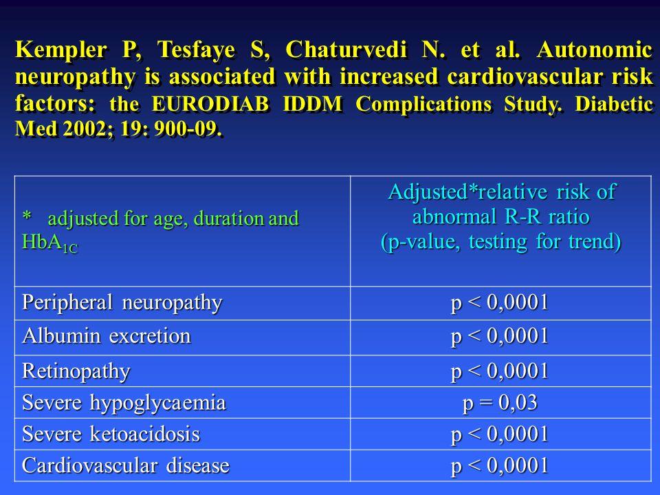 Kempler P, Tesfaye S, Chaturvedi N. et al