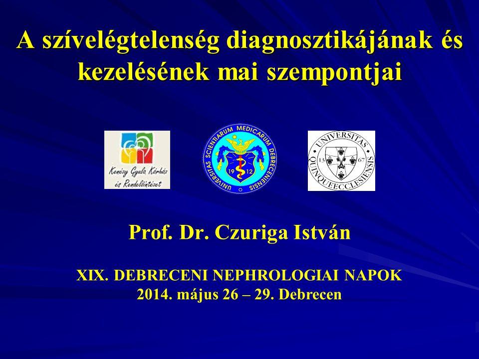 A szívelégtelenség diagnosztikájának és kezelésének mai szempontjai