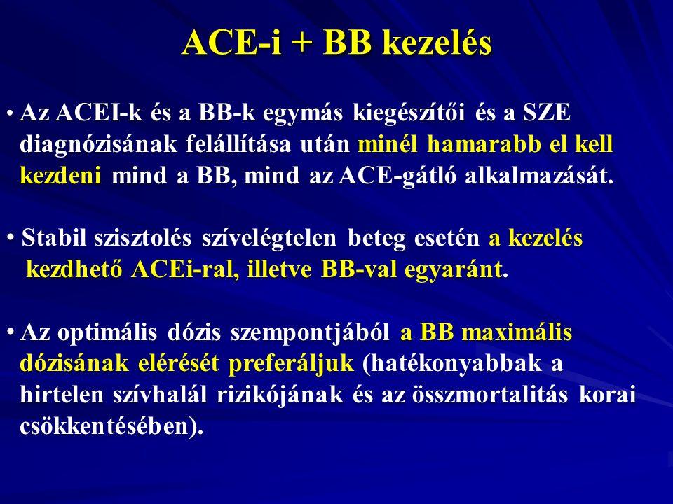 ACE-i + BB kezelés