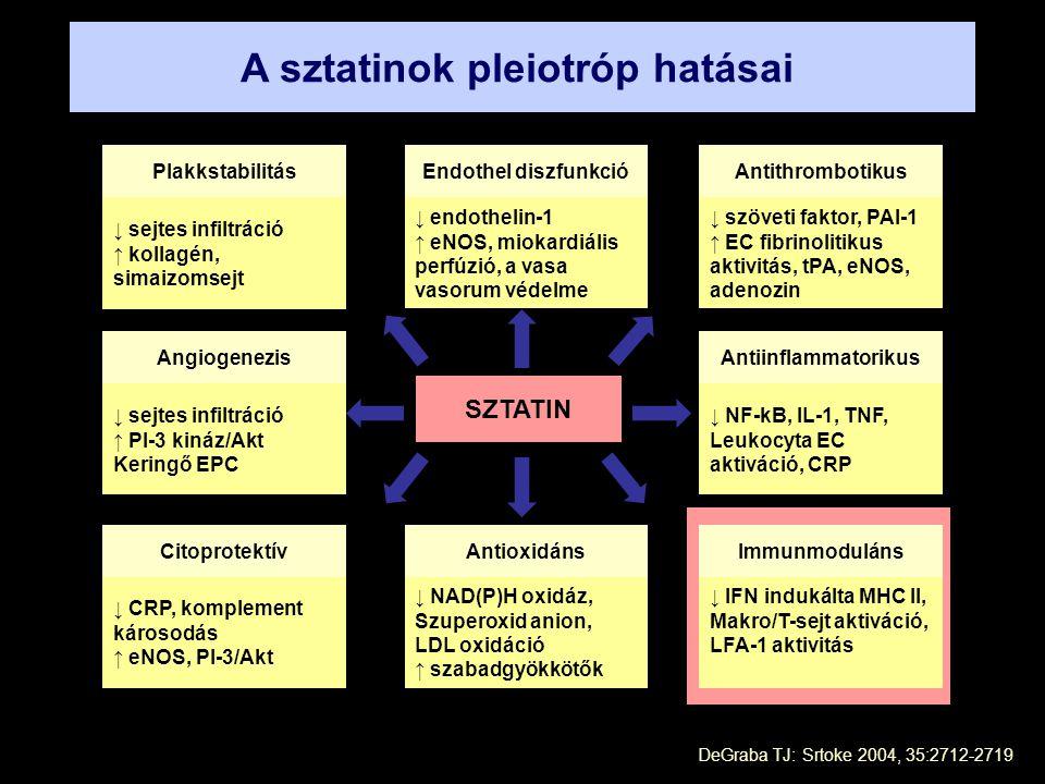 A sztatinok pleiotróp hatásai