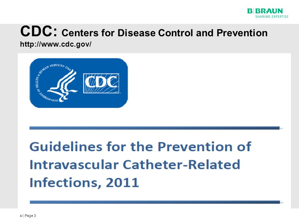 CDC: Centers for Disease Control and Prevention http://www.cdc.gov/