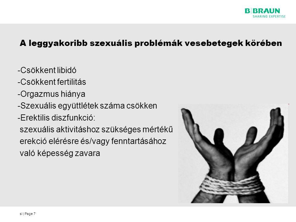 A leggyakoribb szexuális problémák vesebetegek körében