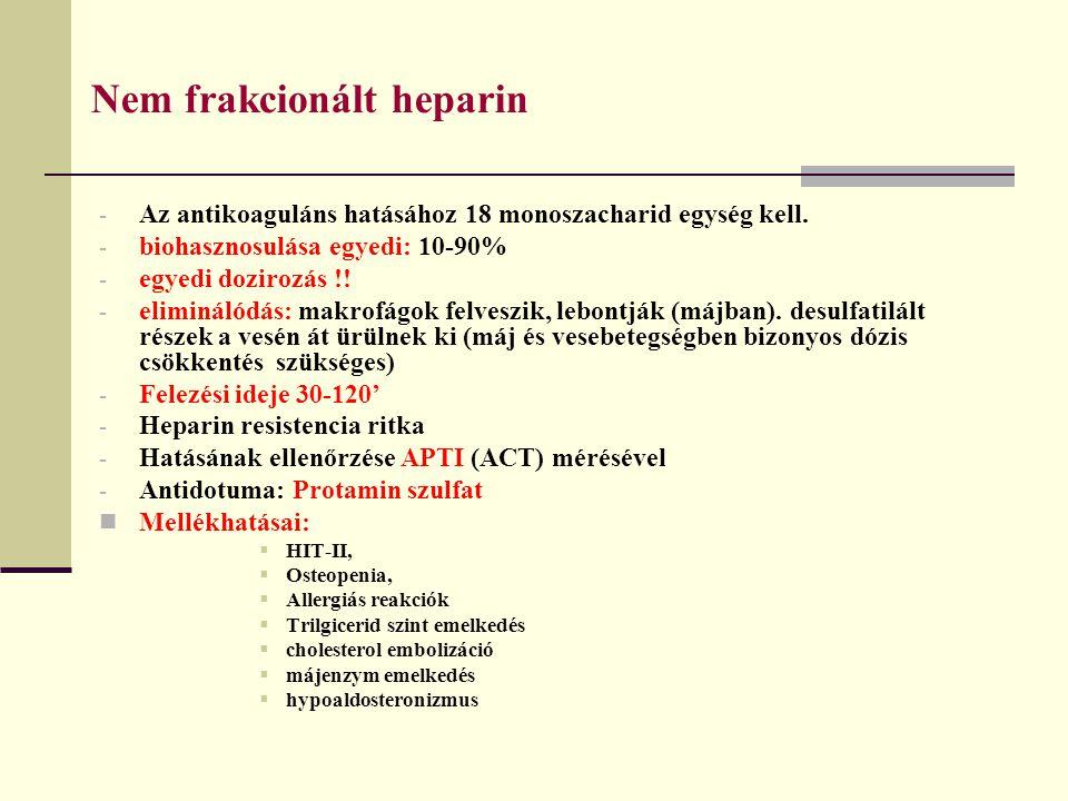 Nem frakcionált heparin