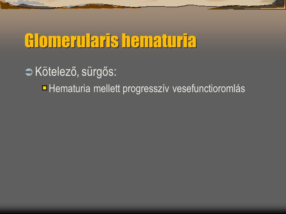 Glomerularis hematuria
