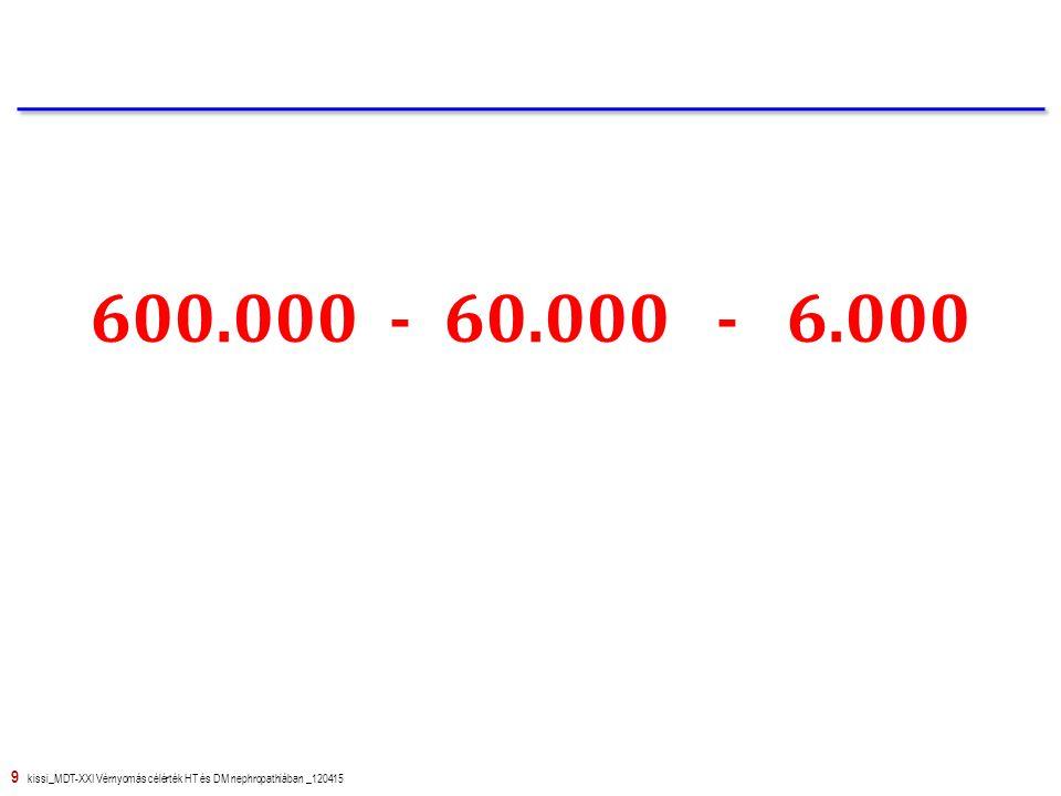 600.000 - 60.000 - 6.000