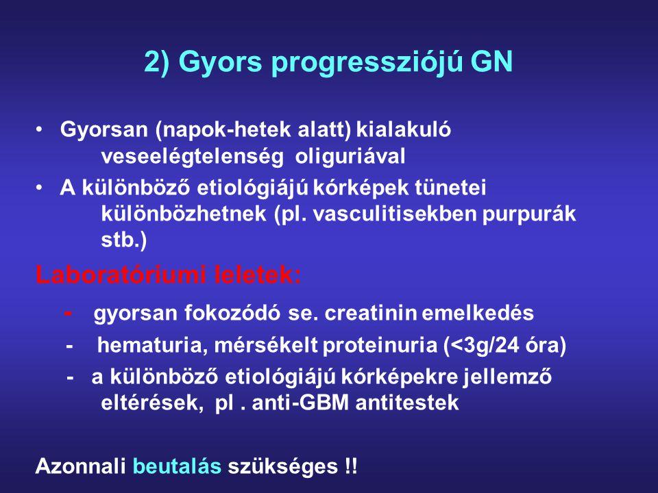 2) Gyors progressziójú GN