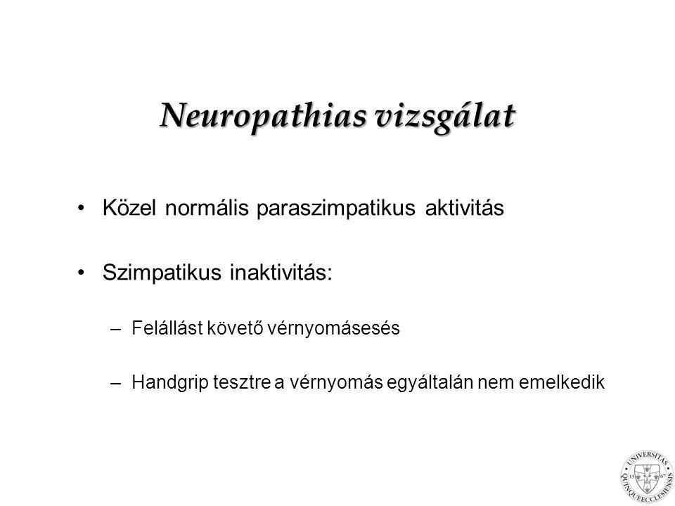 Neuropathias vizsgálat