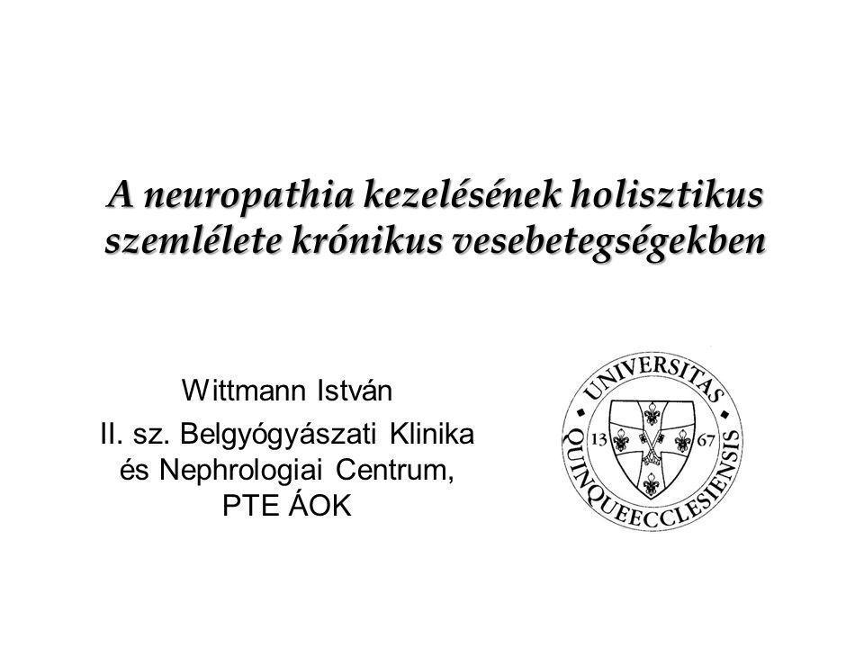 II. sz. Belgyógyászati Klinika és Nephrologiai Centrum, PTE ÁOK